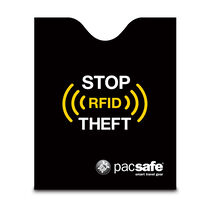 RFIDsleeve 50 RFID-blocking passport protector, Black