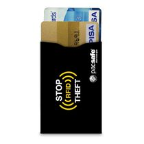 RFIDsleeve 25 RFID-blocking credit card sleeve (2 pack), Black