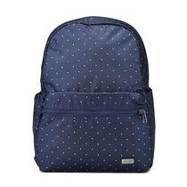 Daysafe backpack, Navy Polka Dot